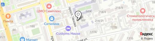 СВ-Транзит на карте Ростова-на-Дону