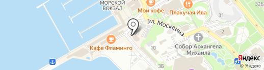МЕЧТА cafe на карте Сочи