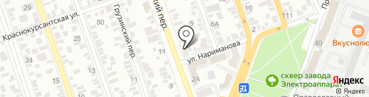 4 такта на карте Ростова-на-Дону