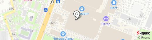 Twinset на карте Ростова-на-Дону