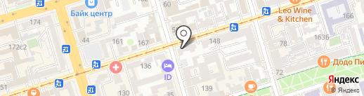 РостокЮг на карте Ростова-на-Дону
