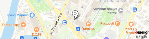 Галерея на карте Сочи