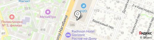 Живые системы на карте Ростова-на-Дону