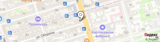 Эстель на карте Ростова-на-Дону