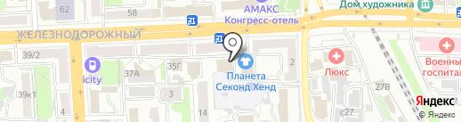 PUSHKIN на карте Рязани