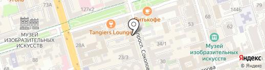 Allora на карте Ростова-на-Дону