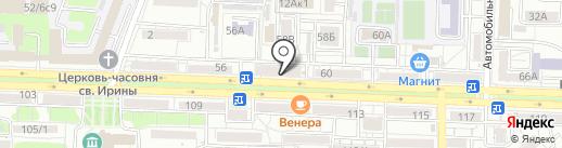 Магазин дисков на карте Ростова-на-Дону