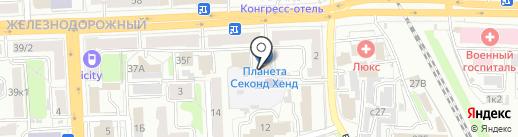 Импульс на карте Рязани
