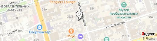 Комиссионный магазин-бутик №1 на карте Ростова-на-Дону