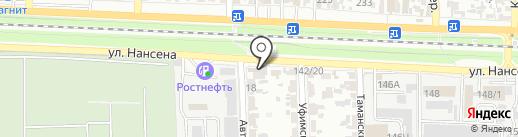 YULSUN на карте Ростова-на-Дону