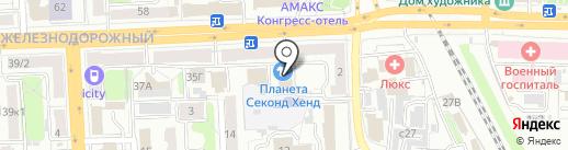 Автошкола РФ на карте Рязани