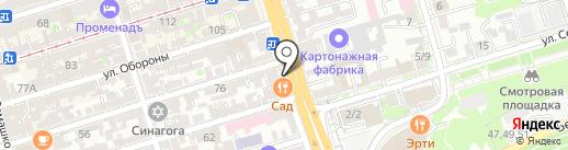 Bridge на карте Ростова-на-Дону