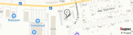 Везём на карте Батайска