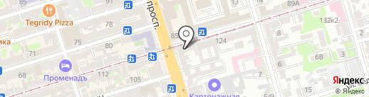 BEERЛога на карте Ростова-на-Дону