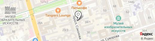 Nail bar на карте Ростова-на-Дону