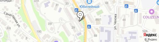 Содружество, КПК на карте Сочи
