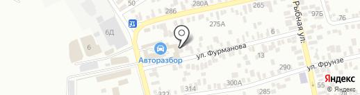 РазборАвто на карте Батайска