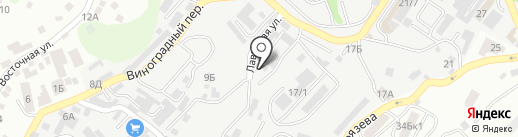 Славный Заяц на карте Сочи
