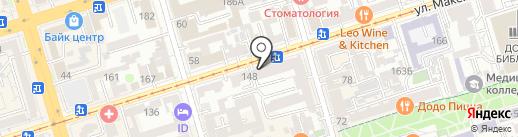161.fm на карте Ростова-на-Дону