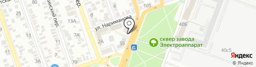 НК-АВТО на карте Ростова-на-Дону