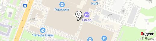 Лимон & мята на карте Ростова-на-Дону