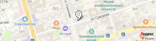 Дилер Крокс на карте Ростова-на-Дону