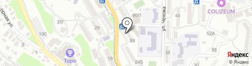 Банкомат, Банк Первомайский, ПАО на карте Сочи