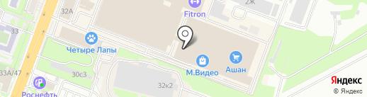 Часовой двор на карте Ростова-на-Дону