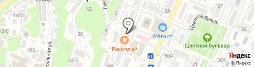 Гастроном на карте Сочи