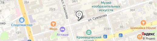 Zhadina Burgers на карте Ростова-на-Дону