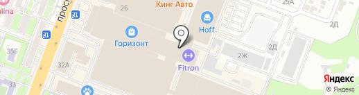Воккер на карте Ростова-на-Дону