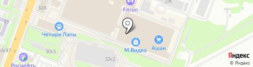 Orby на карте Ростова-на-Дону