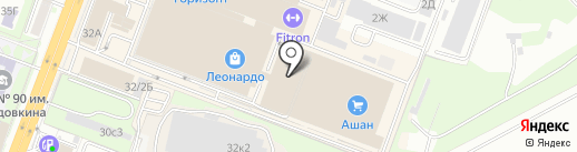 Агра на карте Ростова-на-Дону