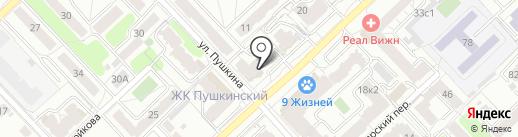 FM 53 на карте Рязани