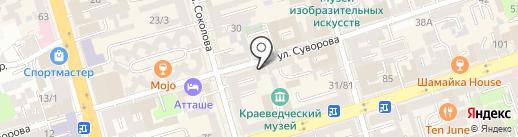 DON24 на карте Ростова-на-Дону