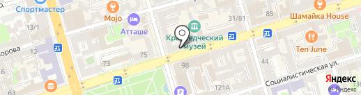 Семикаракорская керамика на карте Ростова-на-Дону