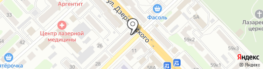 Мастерская по ремонту одежды на карте Рязани