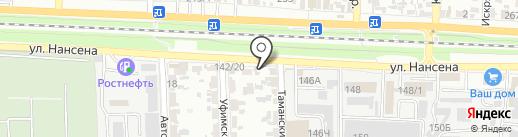 Магазин элитного чая и кофе на карте Ростова-на-Дону