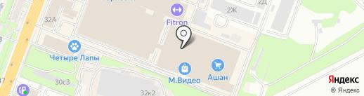 Bodyclub на карте Ростова-на-Дону