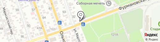 Халял на карте Ростова-на-Дону