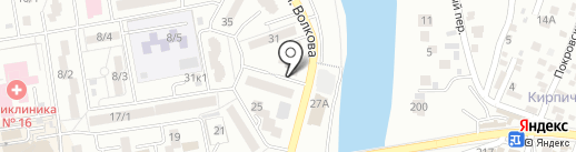 LEBEDEVA MAKE UP на карте Ростова-на-Дону