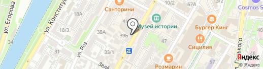 QS digital signage на карте Сочи