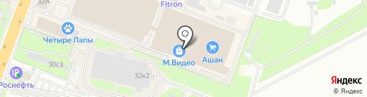 Mybox на карте Ростова-на-Дону
