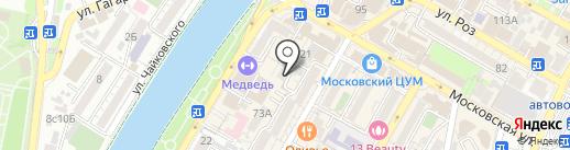 Адвокат Нерсесян К.С. на карте Сочи
