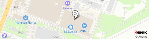 Fissman на карте Ростова-на-Дону