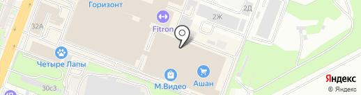 Лай-Ла на карте Ростова-на-Дону
