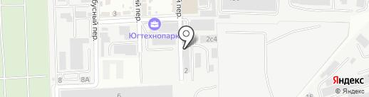 Сплав на карте Ростова-на-Дону