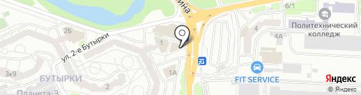 Салон на карте Рязани