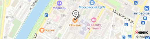 Оранжерея на карте Сочи