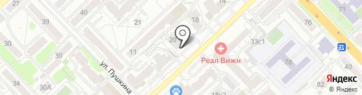 Продукты из Беларуси на карте Рязани